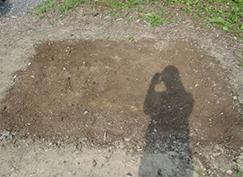 墓石の撤去後