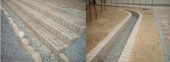 滋賀県営住宅石工事